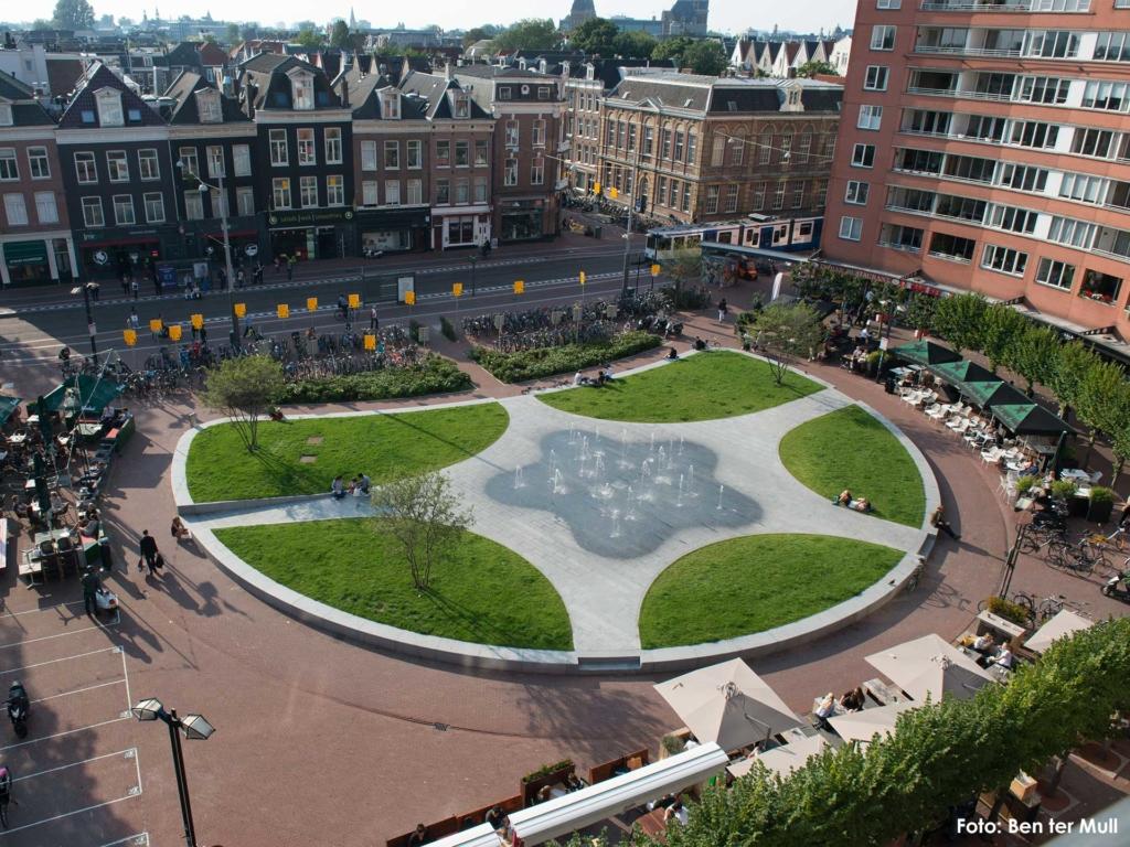 Ontwerp buro SON_Marie Heinekenplein Amsterdam