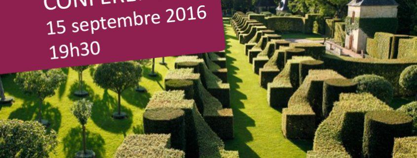Conférence - Le jardin, de la symbolique à l'esthétique